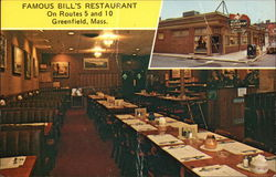 Famous Bill's Restaurant, On Routes 5 and 10, Greenfield, Mass.