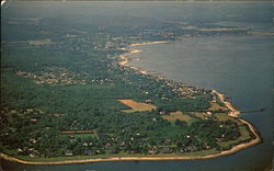 Aerial View of Black Point Beach Club
