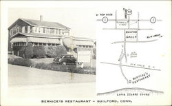 Bernice's Restaurant and Map - Near Long Island Sound
