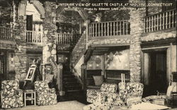 Interior of Gillette Castle