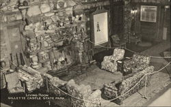 Gillette Castle State Park - Living Room