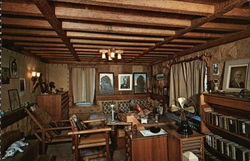 William H. Gillette's Study, Gillette Castle State Park