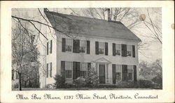 Residence of Mrs. Bea Mann, 1787 Main Street