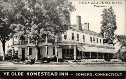 Ye Olde Homestead Inn Postcard