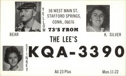 Call Sign KQA-3390 - The Lees, Stafford Springs, CT