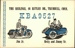 Call Sign KBA9527 - The Reilings, Trumbull, CT