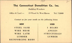 The Connecticut Demolition Co.