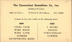 The Connecticut Demolition Co., Inc.
