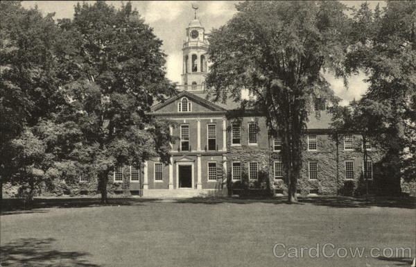 Academy Building at The Phillips Exeter Academy New Hampshire