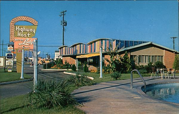 Highway Host Motor Lodge Montgomery Alabama