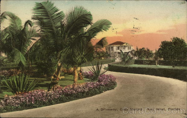 A Driveway at Casa Marina Key West Florida