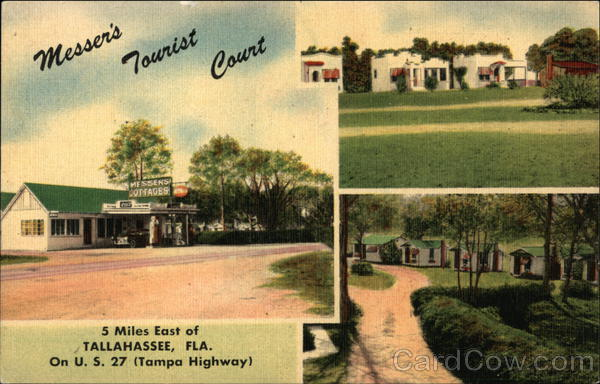 Messer's Tourist Court Tallahassee Florida