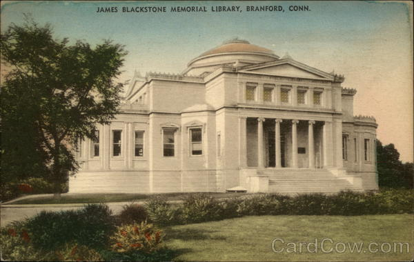 James Blackstone Memorial Library Branford Connecticut