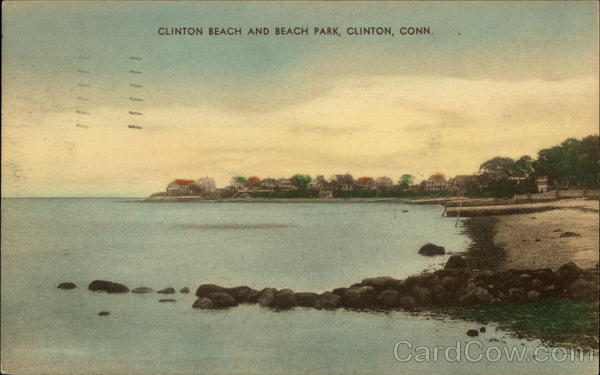 Clinton Beach and Beach Park Connecticut