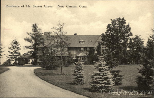 Residence of Mr. Ernest Green New Canaan Connecticut