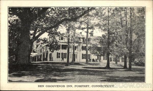 Ben Grosvenor Inn Pomfret Connecticut