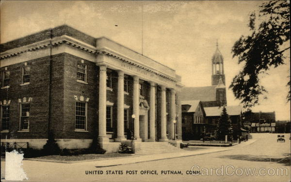 United States Post Office Putnam Connecticut