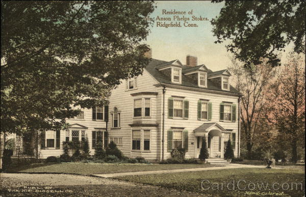 Residence of Anson Phelps Stokes Ridgefield Connecticut