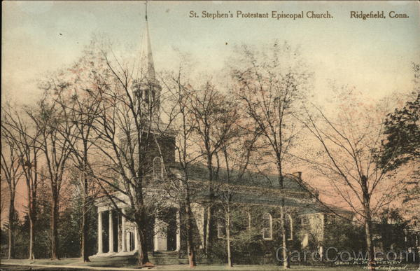 St. Stephen's Protestant Episcopal Church Ridgefield Connecticut