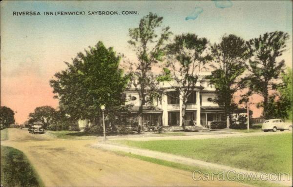 1945 old saybrook ct riversea inn fenwick connecticut. Black Bedroom Furniture Sets. Home Design Ideas