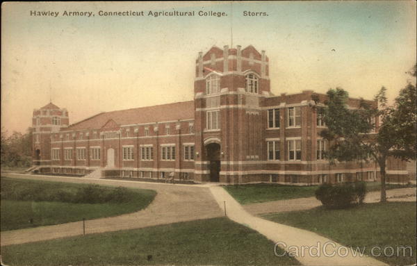 Hawley Armory, Connecticut Agricultural College Storrs