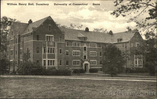 University of Connecticut - William Henry Hall, Dormitory Storrs