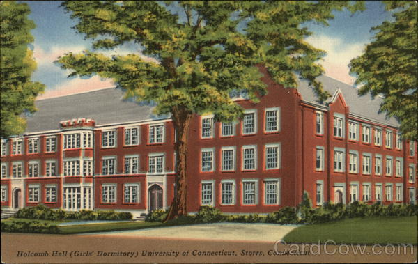 Holcomb Hall (Girls' Dormitory) at University of Connecticut Storrs