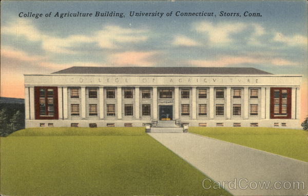 College of Agriculture Building, University of Connecticut Storrs
