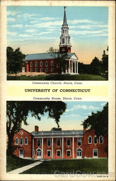University of Connecticut - Community Church and House Storrs