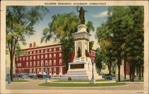 Soldiers' Monument Waterbury Connecticut