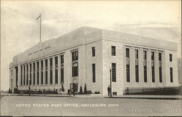 United States Post Office Waterbury Connecticut