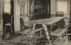 Fruitlands - Refectory Table Postcard