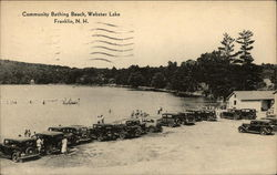 Community Bathing Beach, Webster Lake