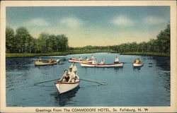 Greetings from The Commodore Hotel