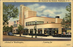 Street View of Greyhound Bus Terminal