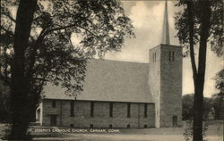 St Joseph's Catholic Church Postcard