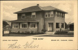 "Rooms for Tourists at ""The Acre"" on Bragg Street Postcard"