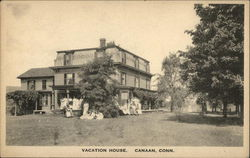 Vacation House Postcard