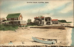 Houses on the Shore at Clinton Beach
