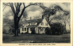 Residence of Miss Letitia Carlin