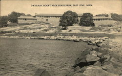 Water View of Pavilion, Rocky Neck State Park