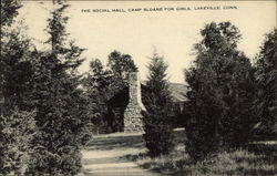 The Social Hall at Camp Sloane for Girls