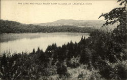 The Lake and Hills about Camp Sloane