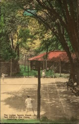 The Lodge Tennis Court at Ted Hilton's Elm Camp