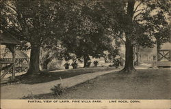 Partial View of Lawn, Pine Villa Park