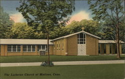 The Lutheran Church of Madison, Conn. Postcard