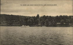 The Shore Line, Sandy Beach at Crystal Lake