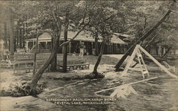 Refreshment Pavilion, Sandy Beach, Crystal Lake