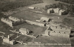 Aerial View of State of Connecticut Veterans Home Postcard
