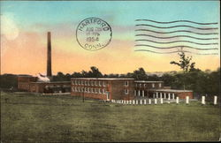 State of Connecticut - Veterans Home and Hospital Postcard